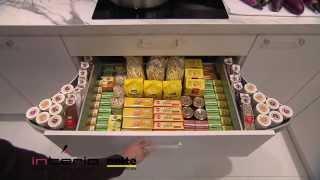 Szuflada ze skrzydełkami Gullwing - meble kuchenne Nolte