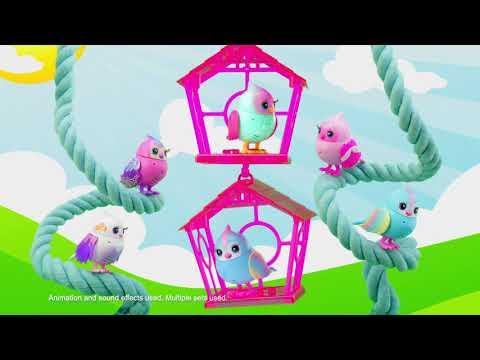 Little Live Pets Lil' Bird & Bird House  - Assorted*