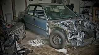 GGM BUILD: 89 Honda Civic sedan (CRX4DR)