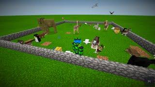 getlinkyoutube.com-MODS PARA Minecraft PE 0.12.3   MAS ANIMALES MOD CON SONIDO   POCKET CREATURES   DESCARGA