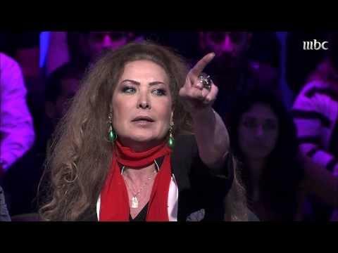 ردة فعل الفنانة رغدة محمود نعناع من سؤال الجمهور في برنامج نورت مع أروى