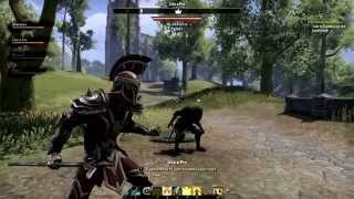 getlinkyoutube.com-The Elder Scrolls Online #4 - ПВП и Осады.
