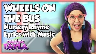 Wheels on the Bus | Nursery Rhymes Lyrics with Music