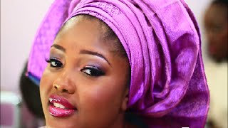 getlinkyoutube.com-African Bridal Makeup and How to tie the gele