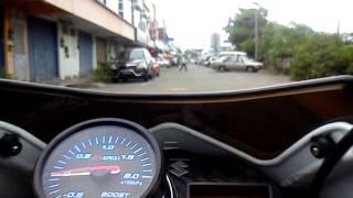 getlinkyoutube.com-Suzuki belang turbo boost at 1 bar