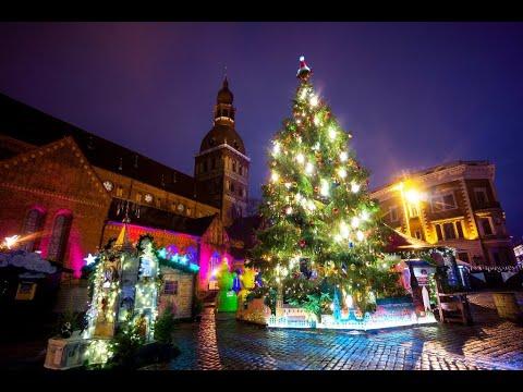 Рождество, Рига, Латвия / Ziemassvētki, Rīga, Latvija / Christmas, Riga, Latvia