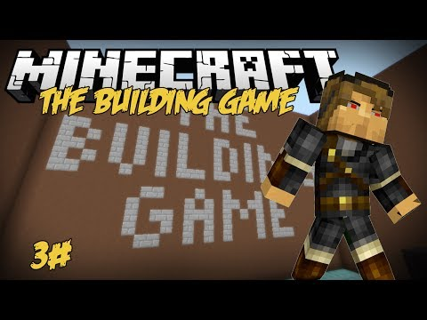 Minecraft: Building Game - 3# ماي_كرافت قيمز : لعبة البنااااء ياعيال#