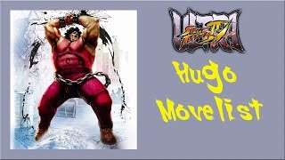 getlinkyoutube.com-Ultra Street Fighter IV - Hugo Move List