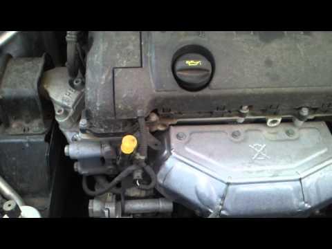 Расположение сальника двигателя в Peugeot 308
