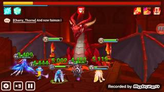 getlinkyoutube.com-Summoner's War - Dragon B10 FARMABLE NO VERDE NO TOWER