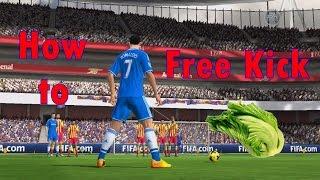 getlinkyoutube.com-Fifa online 3 - Free kick - วิธียิงฟรีคิกระดับมาหาผักกาด