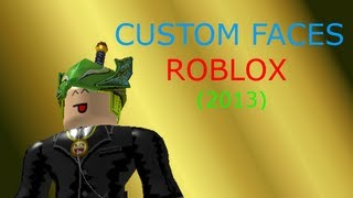 getlinkyoutube.com-How to make a face morph for Roblox (2013) UPDATED
