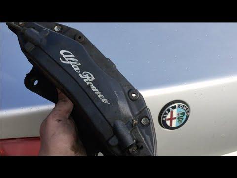 Alfa Romeo переборка суппортов Brembo