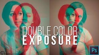 getlinkyoutube.com-Double Color Exposure — Photoshop Tutorial