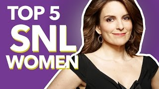 SNL's Top 5 Female Comedians // Fierce 5 | the Lala: Empowering Young Women
