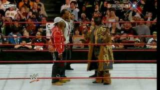 getlinkyoutube.com-Raw 01-19-09 John Morrison and The Miz vs Cryme Tyme
