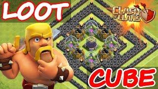 "getlinkyoutube.com-Clash Of Clans | ""INVINCIBLE LOOT CUBE TROLL BASE!"" | EPIC DEFENSES AGAINST MAX ATTACKS!"