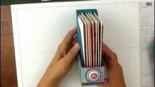 getlinkyoutube.com-Stampin' Up! Card Holder Project