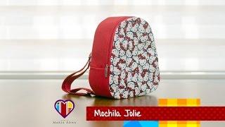 getlinkyoutube.com-Bolsa mochila infantil de tecido Jolie- Maria Adna Ateliê - Aulas de bolsas e mochilas de tecido