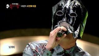 getlinkyoutube.com-[King of masked singer] Blow hot and cold Bat Human - love sick 이랬다가 저랬다가 박쥐인간 - 중독된 사랑 20150419