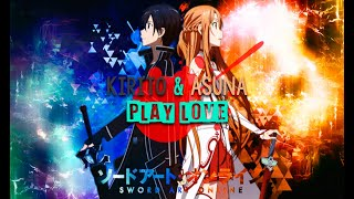 getlinkyoutube.com-Kirito y Asuna [PLAY LOVE] ZarcortGame/ITownGamePlay