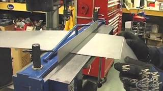 getlinkyoutube.com-Sheet Metal Brake Fabricating Tight Bends for a Truck Bed at Eastwood