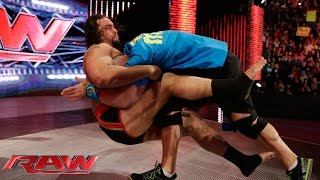 "getlinkyoutube.com-Rusev and Lana ""honor"" the career of John Cena: Raw, February 9, 2015"