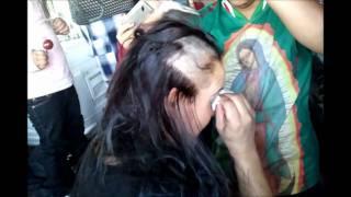 getlinkyoutube.com-Chivas vs. America 2011 Suegra vs. Yerno Cabellera Pelona