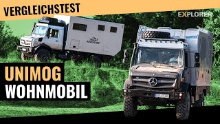 Unimog Expeditionsmobil ■ Test ■ Bimobil EX435 gegen Ziegler Adventure Moghome