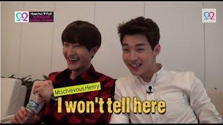 getlinkyoutube.com-Global We Got Married S2 EP11 Making Film (Super Junior Heechul & Puff) 140618 (슈퍼주니어 김희철 & 곽설부)