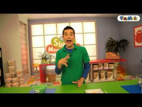 Playmais Presenta: Las Super Manualidades - El Cocodrilo De Playmais