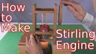getlinkyoutube.com-How to Make Stirling Engine - Single Cylinder Tomato Can (Homemade/DIY)