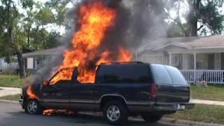 getlinkyoutube.com-HEAD-ON CRASH CAPTURED DURING A CAR FIRE