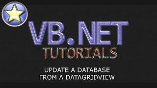 getlinkyoutube.com-VB.NET Database Tutorial - Update a Database From a DataGridView (Visual Basic .NET)