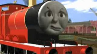 getlinkyoutube.com-Thomas Trainz Remake - No Joke for James