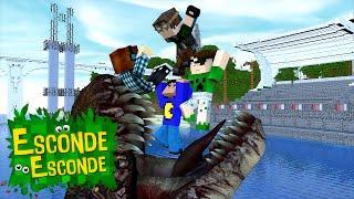 getlinkyoutube.com-Minecraft: JURASSIC WORLD - O FILME! (Esconde-Esconde)