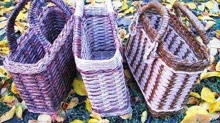 ▬► Плетёные сумки из газет. Часть 3.