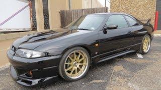 getlinkyoutube.com-1997 Nissan Skyline GT-R V-Spec (R33) Start Up, Exhaust, and In Depth Review