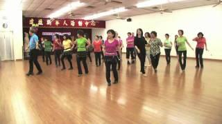 getlinkyoutube.com-Cha Cha Espana (Spain) -Line Dance (Demo & Teach)