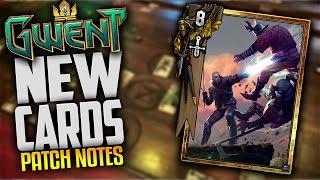 getlinkyoutube.com-Gwent Upcoming Patch Notes & New Cards Dimeritium Shackle, Geralt Aard, Kayran, Coral & Schirru