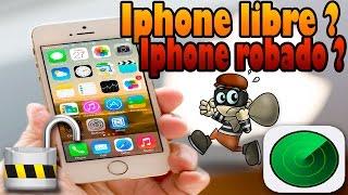 getlinkyoutube.com-Como saber si un iPhone es libre de fábrica | Robado o bloqueado por icloud | Tutorial | 2015 | HD