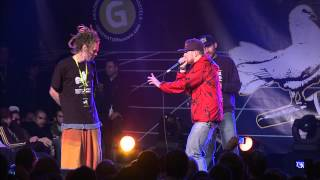 getlinkyoutube.com-Monkie vs Reeps One - 1/4 Final - 3rd Beatbox Battle World Championship