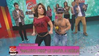 getlinkyoutube.com-La cocina del show 2014 - Noelia Pompa y Maldito Peke, a los besos en La cocina del show