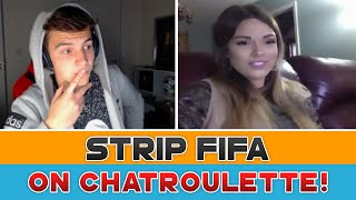 'STRIP FIFA' ON CHAT ROULETTE