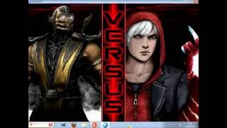 getlinkyoutube.com-[Mugen Motherfighter] Rare chars, Best Battles