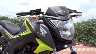 getlinkyoutube.com-#Bikes@Dinos: Honda CB Hornet 160R Special Edition 2016 Review, Walkaround