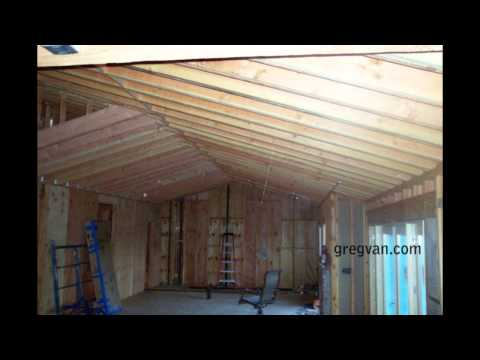 Long Sagging Double Roof Rafters - Structural Engineering Problems