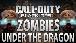 Black Ops 2 Zombies Glitches: Under the Dragon on Die Rise (BO2 Glitches)