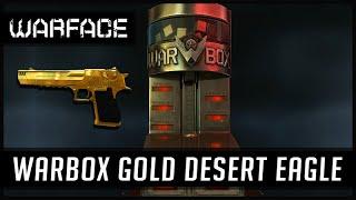 getlinkyoutube.com-Warface Warbox Desert Eagle Gold da Ostentação