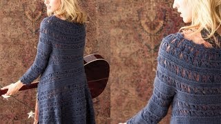 #37 Lace Coat, Vogue Knitting Crochet 2012